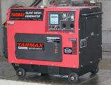 Enige Diesel van de Cilinder Stille Lucht Gekoelde Generator