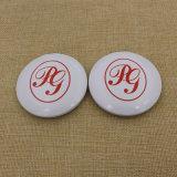 O mais barato Metal alumínio Round Makeup / Compact / Cosmetic / Pocket Mirror com logotipo personalizado