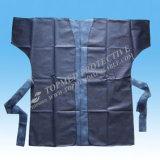 使い捨て可能なサウナのコートの着物のコート