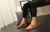 人の靴(DD 02)の方法余暇のスリップ