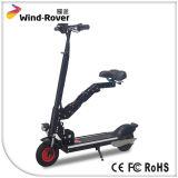 E-Vespa eléctrica plegable de la movilidad con el asiento dos