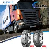 Pneumatico resistente del camion, pneumatico radiale del bus (7.50r16) con il contrassegno di estensione dell'ECE