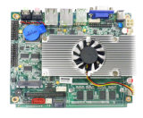 Fanelss/Fan Integrated Intel Atom D525 Industry Motherboard mit 2LAN