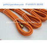 Tubo flessibile di gomma flessibile arancione del gas del petrolio/GPL