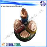 Lage Rook Nul PE van de Isolatie van het Halogeen XLPE de Kabel van de Stroom van de Schede