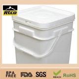 Пластичное Pail, Plastic Barrel с Handle