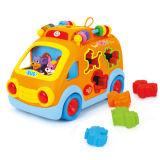 プラスチック教育おもちゃの子供の知的なバス(H0895098)