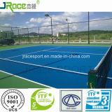 Non-Slip теннис полиуретана резвится пол резины суда