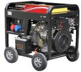 générateur 8.5kw diesel portatif avec l'engine de 4 rappes