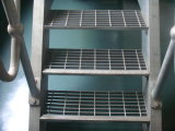 DIP chaud Galvanized 25X3 Steel Grating avec ISO9001