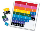 Fractie Tiles Set met Tray voor Educational Toy (cb-ed005-y)