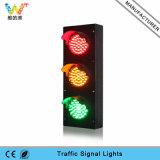 Mini semaforo rosso 100mm dei parcheggi di verde giallo LED