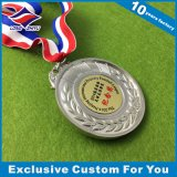 Medalha de promoção da empresa de alta qualidade com fita