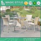 ترقية كرسي تثبيت حديقة يتعشّى كرسي تثبيت مع طاولة [ويكر شير] كرسي تثبيت قابل للتراكم