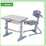 Inclinando a única mobília de escola Desktop da mesa do estudo do jardim de infância