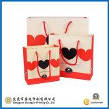 Белый роскошный мешок несущей для покупкы (GJ-Bag063)