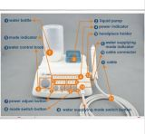 Agua automática LED Handpiece del control sin hilos ultrasónico dental del escalador Vrn-A8