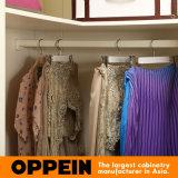 Camminata opaca crema moderna della lacca di Oppein nel guardaroba dell'armadio (YG91519)