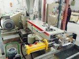 A extrusora de parafuso dobro equipa o motor de Siemens
