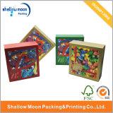 주문을 받아서 만들어진 다채로운 인쇄된 크리스마스 선물 종이상자 (QYZ030)