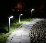 Luz infravermelha solar do jardim do sensor de movimento do frame de alumínio (FQ-748)