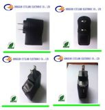 8W Black UL USB Universal AC DC Adapter