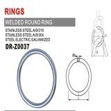 Ювелирные изделия фермуара кольца Leaver весны и донут компонентов круглый сформировали