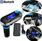 Bluetooth inalámbrico Bluetooth reproductor de MP3 coche kit cargador FM transmisor modulador