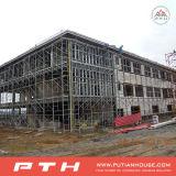 Armazém da construção de aço do projeto da construção