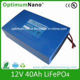 De Batterij van het Type 12volt 40 Ah LiFePO4 van Batterij van het lithium voor UPS en Zonnestelsel