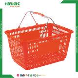 Cestino di acquisto di plastica di stile americano (HBE-B-15)
