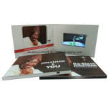 5inch Video Greeting Card Video Booklet con Customized Printing (ID5001)