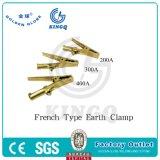 Инструменты заварки Kingq французского типа струбцины земли