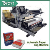 4 Colors Printing를 가진 벨브 Paper Bag Making Machine