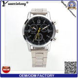 Yxl-661 Melhor Mens e Mulheres Chronograph Stainless Steel Dise Wrist Band Watch