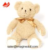 Brinquedos macios do urso feito sob encomenda da peluche do animal enchido do luxuoso