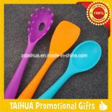 Комплект инструмента кухни цветастого силикона франтовской для варить инструменты и утвари