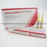 Injeção do paracetamol da injeção 300mg/2ml do tratamento da febre elevada