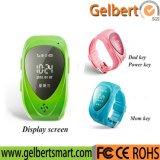 Gelbert GPS SOS embroma el reloj elegante para el IOS androide