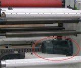 Cortadora de la espuma del caucho de silicón de Hx-650fq y máquina de Rewinder