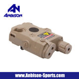 Casque de batterie Anbison-Sports Airsoft Peq-15 avec pointeur laser rouge