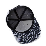 A forma ajustável do Snapback da alta qualidade feita sob encomenda ostenta o chapéu