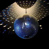 25cm handgemachte drehender Spiegel-Kugel-Disco-Ausgangspartei-Stadiums-Dekoration-Glasreflexions-hängende Kugeln