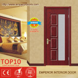 Doppelte hölzerne Tür gemalte hölzerne Tür-rote hölzerne Tür
