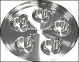 Reeks Zonder vet Zonder water van Cookware van het Roestvrij staal van het keukengerei T304 de Chirurgische