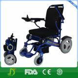 2016 cadeiras de rodas automáticas elétricas de dobramento com bateria de lítio