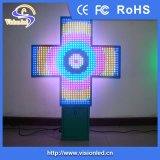 屋外のFull ColorかSingle Color LED Cross Pharmacy