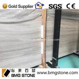중국 새로운 채석장 높은 광도 백색 나무로 되는 대리석을%s 가진 백색 Serpeggiante 대리석 석판