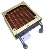 Piccolo Copper Tube Evaporator con Copper Fin