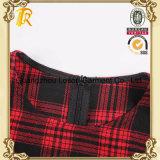 Frauen-Form-Kleid-Dame-beiläufiges Hemd